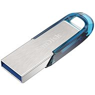 SanDisk Ultra Flair 128 GB - tropical blue - Pendrive