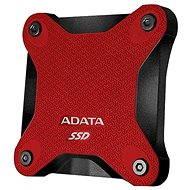 ADATA SD600 SSD 256GB piros - Külső merevlemez