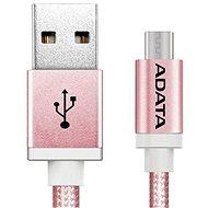 ADATA micro USB, 1 m rózsaszín - Adatkábel