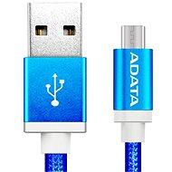 ADATA micro USB, 1 m kék - Adatkábel