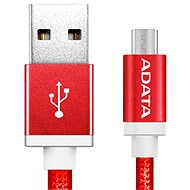 ADATA micro USB, 1 m piros