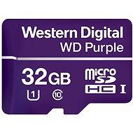 WD Purple MicroSDHC 32GB UHS-I U1 - Memóriakártya