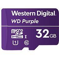 WD Purple QD101 SDHC 32GB - Memóriakártya