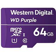 WD Purple QD101 SDXC 64 GB - Memóriakártya
