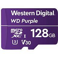 WD Purple QD101 SDXC 128GB - Memóriakártya