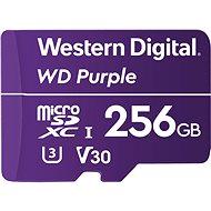 WD Purple QD101 SDXC 256GB - Memóriakártya
