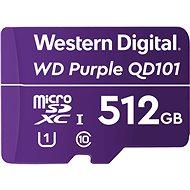 WD Purple QD101 SDXC 512GB - Memóriakártya