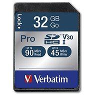 VERBATIM Pro SDHC 32 GB - Memóriakártya