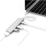 Hyper USB-C hub 4K HDMI arany ezüst - USB Hub