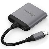 Gmobi USB-C HDMI Splitter GM42B Space Gray - Átalakító