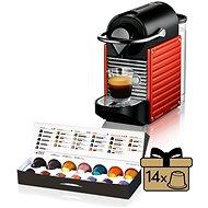 Krups Nespresso Pixie Electric Piros XN3006 - Automata kávéfőző