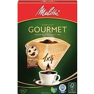 Melitta szűrők 1x4/80 GOURMET Brown - Kávéfilter