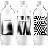 SodaStream TriPack Palack 1l Black&White - Csere palack