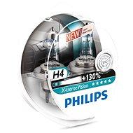 PHILIPS H4 X-tremeVision, 60/55W, foglalat P43t-38, 2 db - Autóizzó