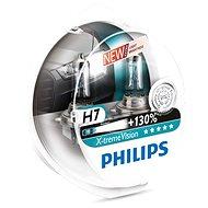 PHILIPS  H7 X-tremeVision, 55W, PX26d foglalat, 2 db - Autóizzó