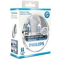 PHILIPS  H7 WhiteVision, 55W, foglalat PX26d, 2db + 2x W5W ingyen - Autóizzó