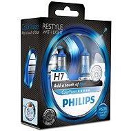 PHILIPS H7 ColorVision Blue, 55W, PX26d foglalat, 2db - Autóizzó