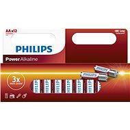 Eldobható elem Philips LR6P12W 12 db/csomag - Jednorázová baterie
