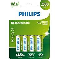 Philips R6B4RTU25 4 db - Akkumulátor