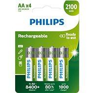 Akkumulátor Philips R6B4A210 4 darab - Nabíjecí baterie