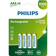 Philips akku R03B4RTU10 4 darab a csomagban - Akkumulátor