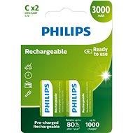 Philips R14B2A300, 2db-os kiszerelés - Akkumulátor