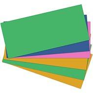 HIT OFFICE Ekonomik 10,5 x 24 cm - 5 szín keveréke (100 db-os csomag) - Regiszter