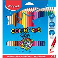 Maped Color Peps 24 színű háromszögletű - Színes ceruzák