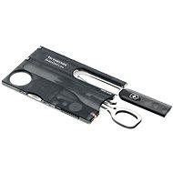 Többfunkciós szerszám Victorinox Swiss Card Lite áttetsző fekete - Multitool