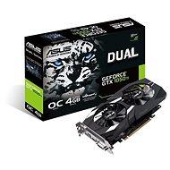 ASUS DUAL GeForce GTX 1050Ti O4G V2 - Videokártya