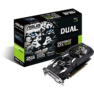 ASUS DUAL GeForce GTX 1050 2G V2 - Videokártya