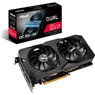 ASUS DUAL Radeon RX 5500 XT O8G EVO - Videokártya