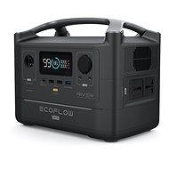 EcoFlow RIVER 600 MAX (nemzetközi változat) - Akkutöltő állomás