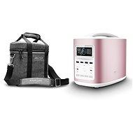 EcoFlow RIVER370 Portable Power Station Pink + Element Proof Protective Case - Akkutöltő állomás