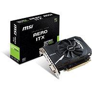 MSI GeForce GTX 1050 Ti AERO ITX 4G OCV1 - Videokártya