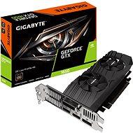 GIGABYTE GeForce GTX 1650 D6 OC Low Profile 4G - Videokártya