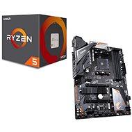 GIGABYTE B450 AORUS ELITE + CPU AMD RYZEN 5 2600 különleges ajánlat - Szett