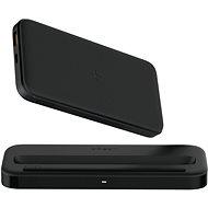 Eloop Orsen W5 vezeték mentes töltőállomás + Powerbank 10000mAh Black - Hálózati adapter