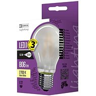 EMOS LED izzó Filament matt A60 A++ 6,5W E27 meleg fehér - LED izzó