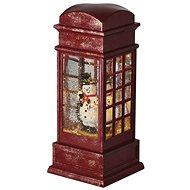 EMOS LED karácsonyi telefonfülke 25x10 cm, 3x AA, beltéri, meleg b. - Karácsonyi fény