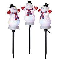 EMOS LED projektor - hóemberek, 1,8 m, kültéri, RGB - Karácsonyi vetítő