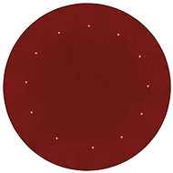 LED karácsonyfa alátét, piros, 1m, időzítő - Karácsonyi fény