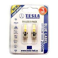 TESLA LED 2W G4 4000K, 2 db - LED izzó