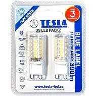 TESLA LED 3W G9 4000K 2 db - LED izzó
