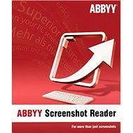 ABBYY Screenshot Reader (elektronikus licenc) - Szoftver