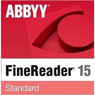 ABBYY FineReader 15 Standard (elektronikus licenc) - Elektronikus licensz