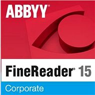 ABBYY FineReader 15 Corporate EDU (elektronikus licenc) - OCR szoftver