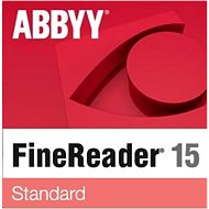 ABBYY FineReader 15 Standard Upgrade (elektronikus licenc) - OCR szoftver