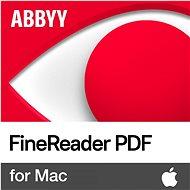 ABBYY FineReader PDF for Mac (elektronikus licenc) - Irodai szoftver