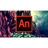 Animate Adobe Creative Cloud (Flash Pro) MP ML (incl. CZ) Commercial (12 months) (Electronic License - Electronic license